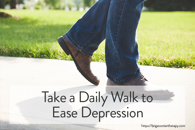 Berkeley Therapy: Take a Daily Walk to Ease Depression