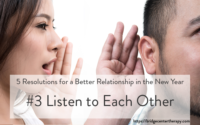 listen to your partner