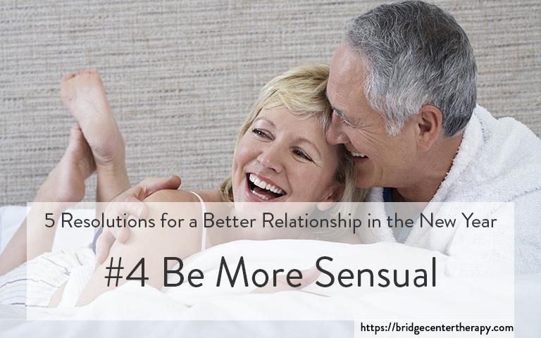 be more sensual