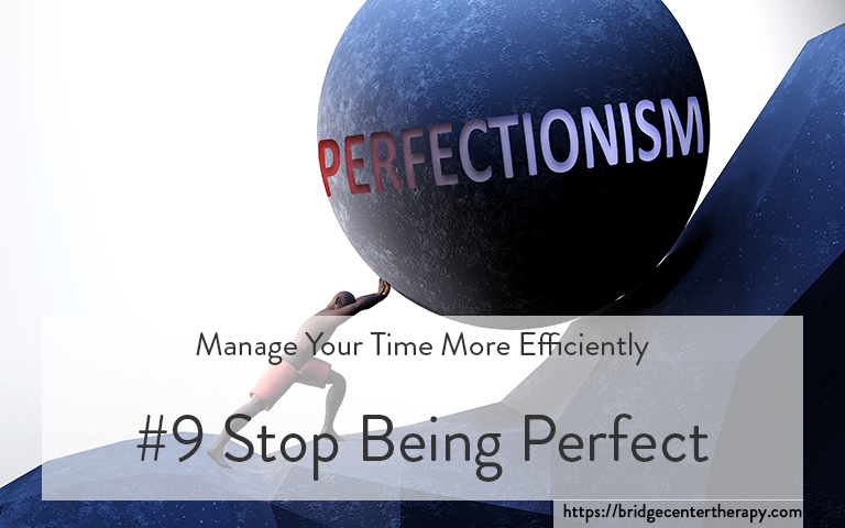 stop perfectionism